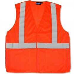 S320 ANSI Class 2 Hi-Viz Vest Mesh Break-Away - Hook & Loop