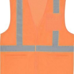 S362P ANSI Class 2 Hi-Viz Vest Mesh w/ Pockets - Hook & Loop