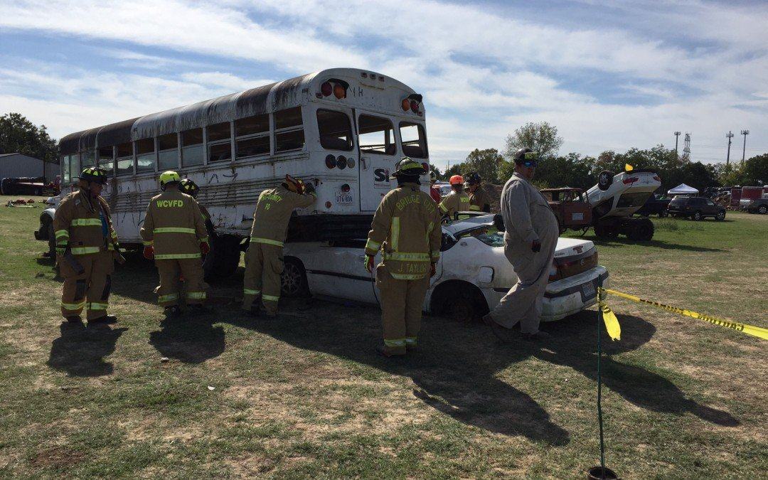 Key Safety Attends Extrication Fire Rescue Academy