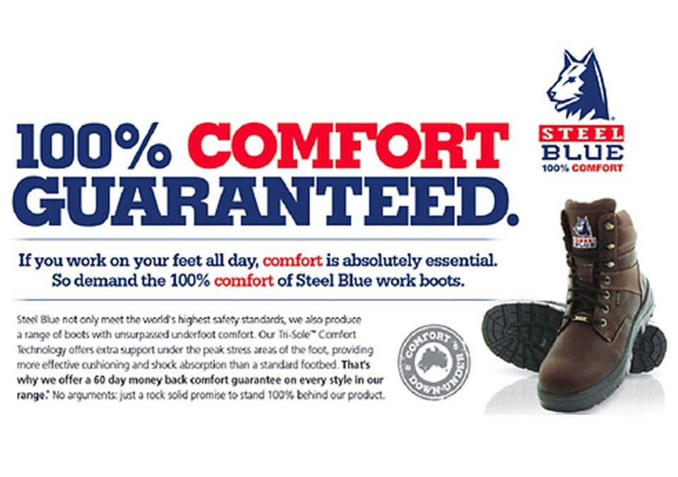 Key Safety teams with Steel Blue Boots