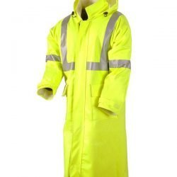 "NSA® Flame Resistant CLASS 2 Rainwear 48"" Duster"