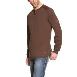 Ariat-Fr Work Henley Ls