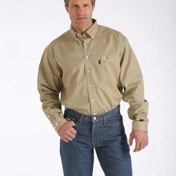 Cinch-FR Work Shirt, 100% Cotton
