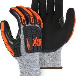 RTI Majestic X-15 Knucklehead 35-5575 Cut Resistant Gloves