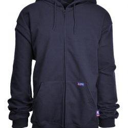 LAPCO 12.5 oz. FR ZiP Sweatshirt w/ Hood